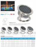 IP68 impermeável RGB 12W/15W Refletor subaquático de LED para Piscina Fountains
