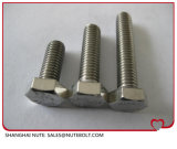 Boulon à tête hexagonale en acier inoxydable DIN933ANSI filetage complet M8X10...M8X220