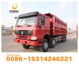 強い先生の市場のためのコンゴ品質によって使用されるHOWOのダンプトラックのダンプカー12のタイヤの低価格