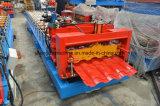 Furchung-Dach glasig-glänzende Fliese-Rolle, die Maschine für industrielle Werkstatt bildet