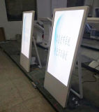 プレーヤーのデジタル表記LCDのパネルのタッチ画面のモニタを広告する21.5インチのショッピング記憶装置