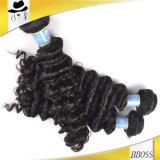 自然なカラーブラジルのバージンの毛