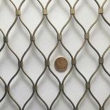 Сплетенная Ferrule сетка веревочки /SS316 ячеистой сети веревочки декоративная