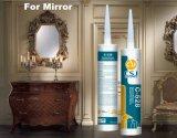 Secado neutro sellante de silicona para el sellado de espejo de cristal