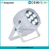 무선 건전지에 의하여 운영한 7*14W RGBWA+UV LED 표시등 막대 동위는 할 수 있다