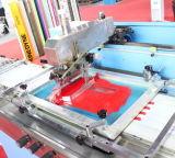 Novo tipo - 2 cores que vestem a máquina de impressão automática da tela das etiquetas