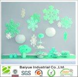 Снежинки войлока Colorfull для домашнего украшения (60 пакетов)