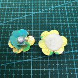 Accessorio 007 dell'indumento del fiore del Sequin