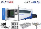 Prix usine de machine de découpage de laser de Wuhan ! Machine de découpage en métal de fibre de commande numérique par ordinateur
