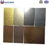 Titanium панель нержавеющей стали цвета золота