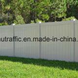 Protección de jardín recubierto de PVC 100% de la valla de vinilo