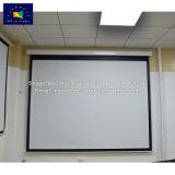 """Xyscreen 133 """" Automatische Daling motoriseerde neer het Scherm van de Projector met de Grijze Stof van de Glasvezel"""