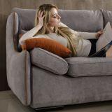 Sofa de tissu de modèle moderne pour les meubles G7606A de salle de séjour