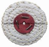 """roue de polissage de polissage du sisal 3 """" X1/2 """" pour le métal"""