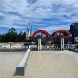 Matériel de lavage de grande capacité de sable neuf de roue