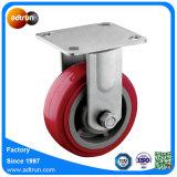 5 x 2 Zoll-Rollenlager PU-Rad-industrielle Hochleistungsfußrolle