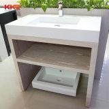 Pedra mármore branco lavatório decoração para casa de banho