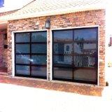 현대 작풍 주택건설을%s 자동적인 부분적인 유리제 차고 문
