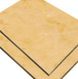 Los materiales de construcción de revestimiento PVDF/Pet Panel Compuesto de Aluminio