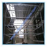 Système sûr d'échafaudage de rosette de certificat de GV pour la construction