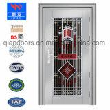 Puerta de acero de seguridad precios baratos de la puerta de acero inoxidable