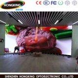 Painel de parede video interno desobstruído super do diodo emissor de luz da cor cheia da alta qualidade