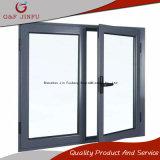 Finestra di alluminio della stoffa per tendine di prezzi competitivi per gli edifici commerciali o residenziali