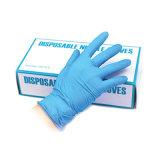 Guante de protección de la mano de nitrilo desechables
