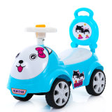 Carro azul do balanço do carro do Wiggle do carro da corrediça dos miúdos da cor do projeto novo
