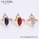 12883 anello popolare di colore dell'oro di modo 18K di Xuping con la CZ