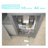 Tmp-6090熱い販売のクラムシェル斜めアームスクリーンの印字機
