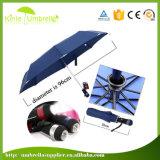 LEDの傘の3つの象LEDの軽いトーチ雨人の日曜日の保護利点