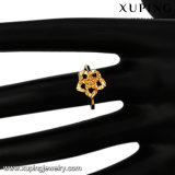 10290 Blumen-Finger-Ring der Form-Schmucksache-24k Gold überzogener für Frauen