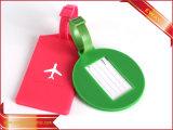 Étiquette en cuir de bagage d'étiquette de valise de rabot d'avions d'embarquement d'étiquette de course