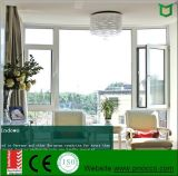 Ventanas de aluminio de giro e inclinación de la ventana con mejor calidad