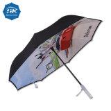 In het groot LEIDENE 23inch Van uitstekende kwaliteit Omgekeerde Paraplu