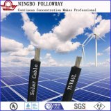 2.5mm2 4mm² 6mm² 10mm² TUV 2pfg1169公認の二重絶縁されたPVの太陽電力ケーブル