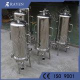 SUS304 of 316L Millipore van de Huisvesting van de Filter van het Roestvrij staal Enige Filter