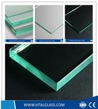 超明確なフロートガラスまたはTemperdの火証拠ガラス着色された薄板にされた