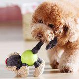 Collection animale Tough faible tissu multicouche d'empotage de chien grinçant des jouets en peluche