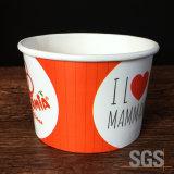 로고에 의하여 인쇄되는 아이스크림 컵 요구르트 컵