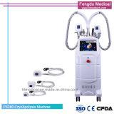 Máquina de Cryotherapy para las manetas Cryolypolisis de la venta 4 que adelgaza el equipo