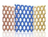 201 304 gaufrage plaque en acier inoxydable couleur décorative feuille creux 501
