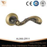 Maniglia di portello di legno di Intrerior della maniglia dell'oro classico di lusso di alluminio di stile (AL055-ZR09)