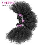Gruppo all'ingrosso dei capelli con l'arricciatura crespa di Afro brasiliano dei capelli della chiusura