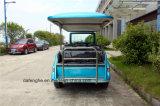 Тележка гольфа электрического автомобиля верхнего качества тележки топлива 6 мест электрическая