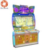 추첨 게임 기계가 운영한 위락 공원 동전에 의하여 농담을 한다