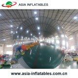 De in het groot Reuze 5m Zilveren Opblaasbare Ballons van de Partij van de Spiegel, de Decoratie van de Ballons van het Huwelijk van Inflatables van Kerstmis, Weerspiegelende Bal
