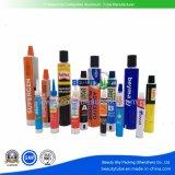 Farmacéutica cosmética Cuidado de la piel Crema de Color de cabello envase vacío tubo de aluminio plegable