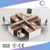 Le personnel de l forme moderne Table Station de travail en bois avec la Partition